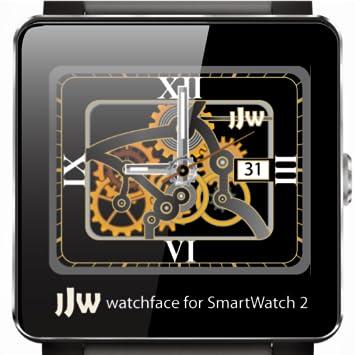 Amazon.com: JJW Animated Gear Watchface 3 for SmartWatch 2 ...