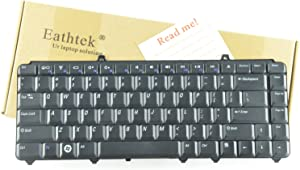 Eathtek New Laptop Keyboard for Dell Inspiron 1420 1520 1526 1525 1540 1545 Series Black US Layout