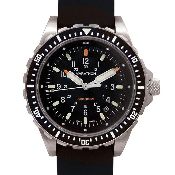 Marathon Reloj; Divers LGP Reloj de Pulsera (JSAR)
