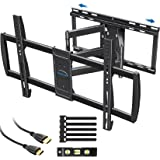 MOUNTUP TV Wall Mount, Full Motion TV Mounts Sliding Design, Articulating Arms for Perfect Center, TV Bracket for 47-90 Inch