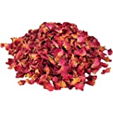 Rose petals-Cut & Dried 100g from The Spiceworks-Hereford Herbs & Spices