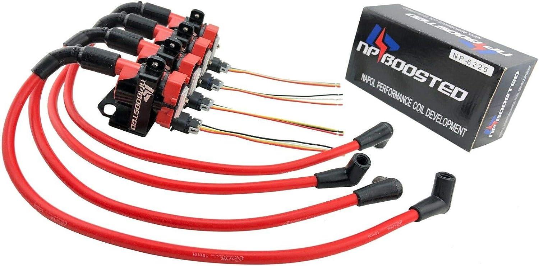 [EQHS_1162]  Amazon.com: 4 GM LS1 LQ9 D585 Ignition Coils & Bracket + 10mm Wires  Universal Conversion Kit: Automotive | Gm Coil Pack Wiring |  | Amazon.com