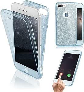 Funda Doble para iPhone 8 Plus, Vandot Bling Brillo Carcasa ...