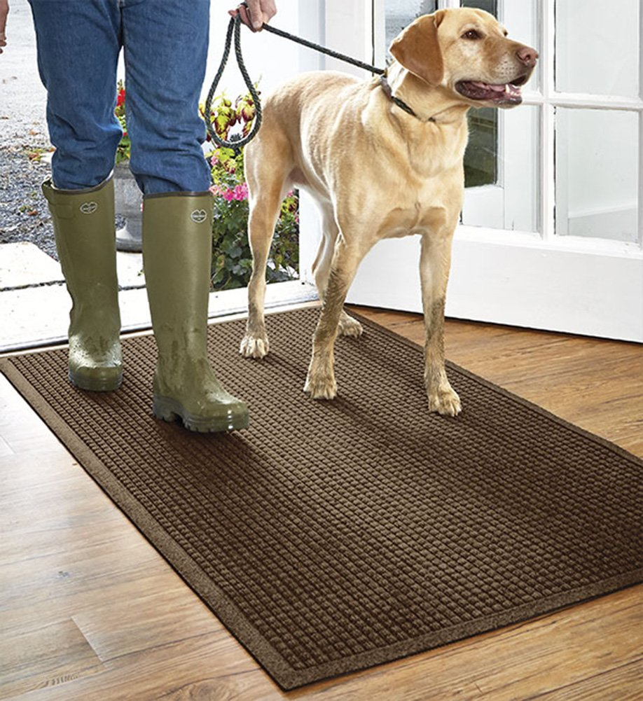 Orvis Grid Water Trapper Mat / Only 45'' X 69'', Dark Brown,