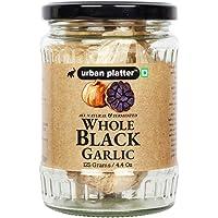 Urban Platter Whole and Fermented Black Garlic, 125g / 4.4oz [Nutrient Rich, Antioxidant, Premium Quality]