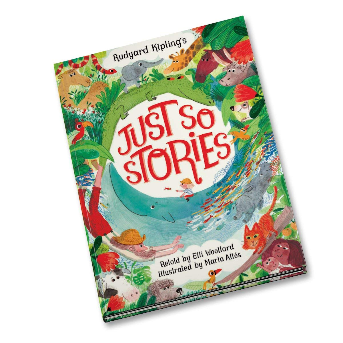 Read Online Rudyard Kipling's Just So Stories, Retold by Elli Woollard pdf