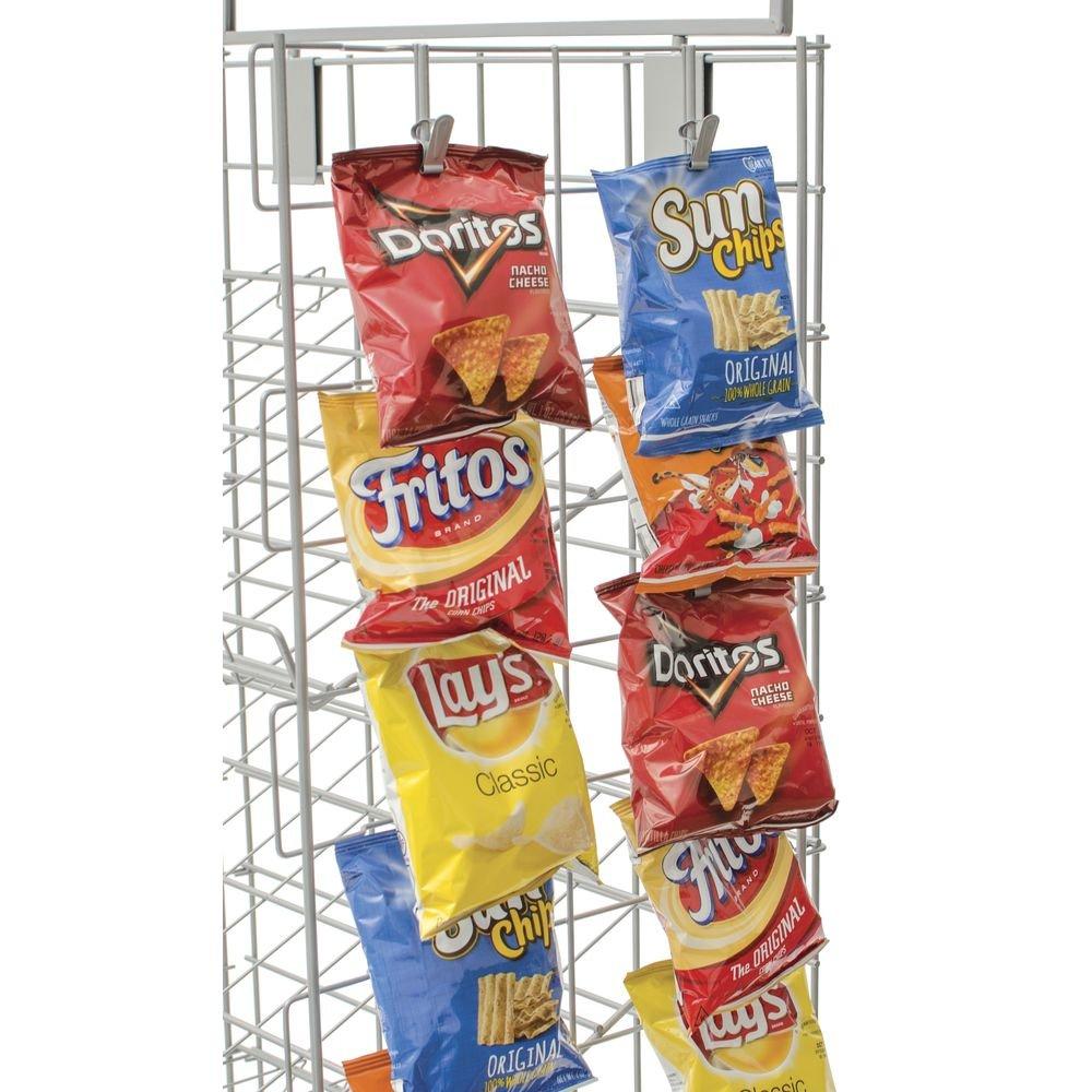 Retail Snack Display Rack, 5 Shelf