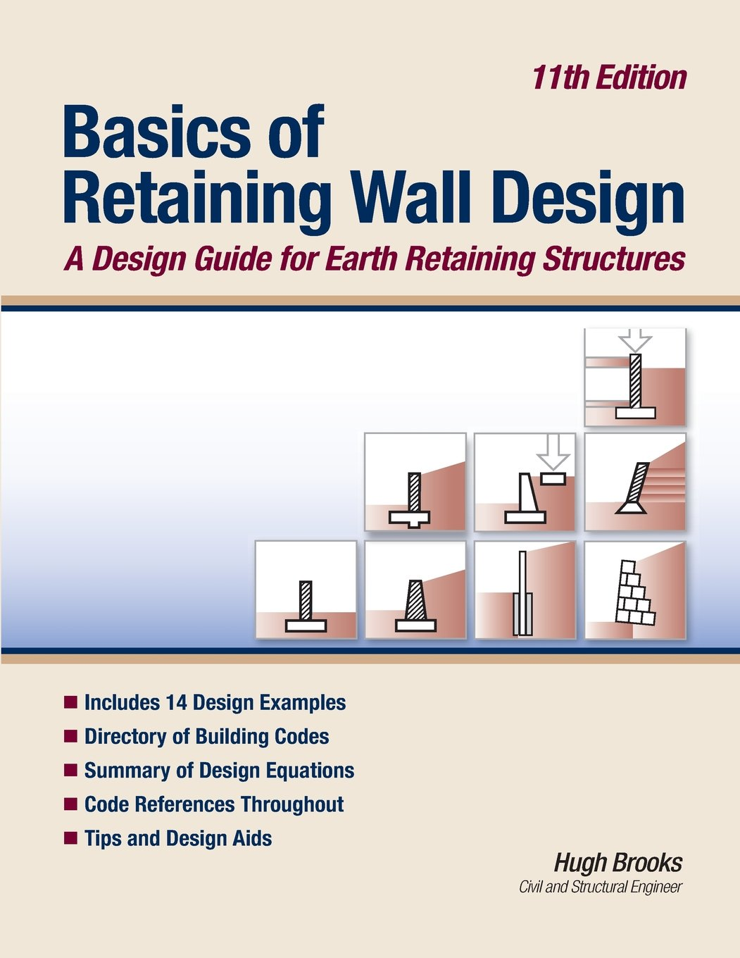 Basics of Retaining Wall Design 11th Edition: A design guide for earth  retaining structures: Hugh Brooks: 9780976836476: Amazon.com: Books