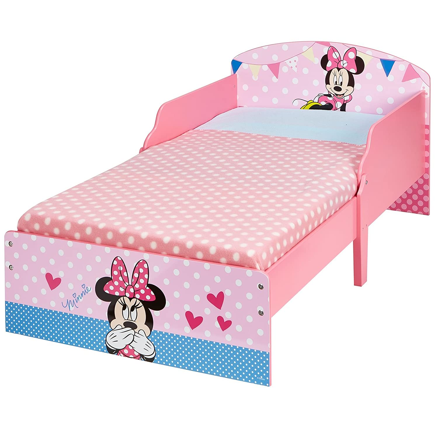 Disney 454MIS - Cama infantil con diseño de Minnie Mouse, color rosa ...