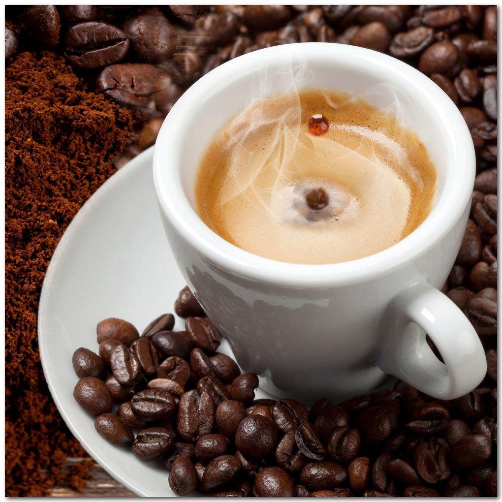 Kuchenruckwand Kaffee Mix Premium Hart Pvc 0 4 Mm Selbstklebend