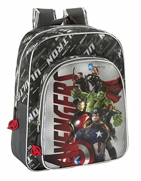 Avengers Age of Ultron - Mochila Junior Adaptable a Carro (SAFTA 611527640)