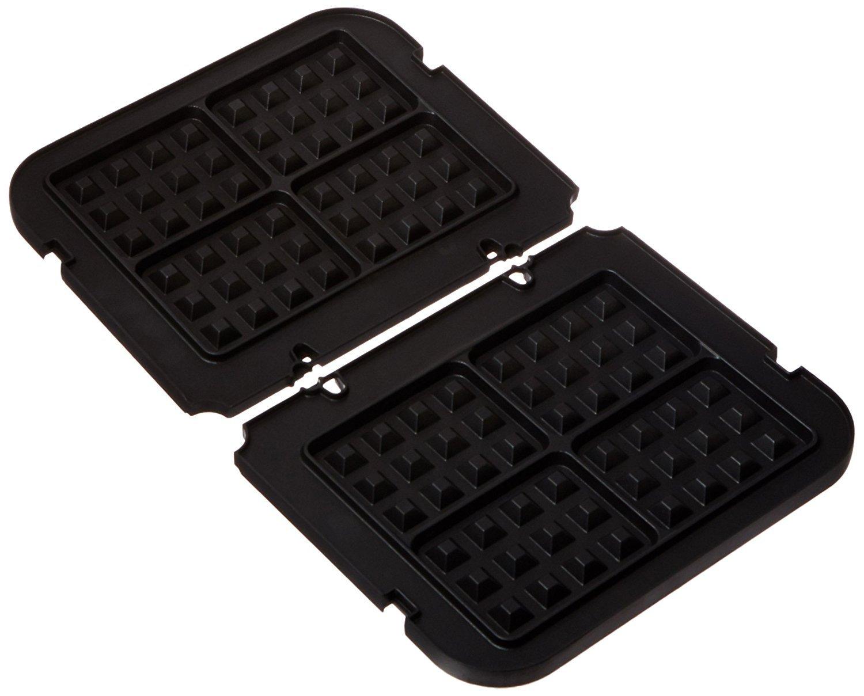Cuisinart GR-WAFP Griddler Waffle Plates (Plates only)(1 set of black plates)