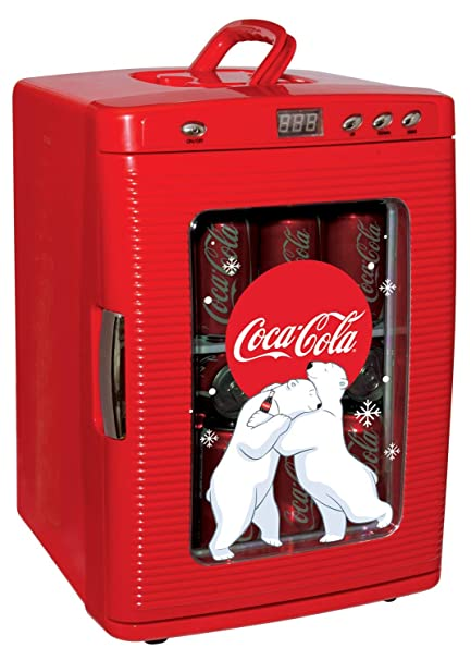 Coca Cola KWC-25 - Refrigerador de Pantalla, Color Rojo: Amazon.es ...
