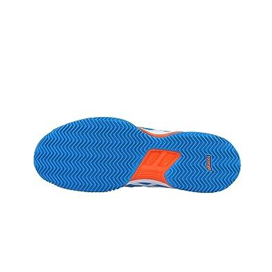 ASICS Gel Padel Exclusive 4SG Naranja Fluor Azul E515Q 3043: Amazon.es: Deportes y aire libre