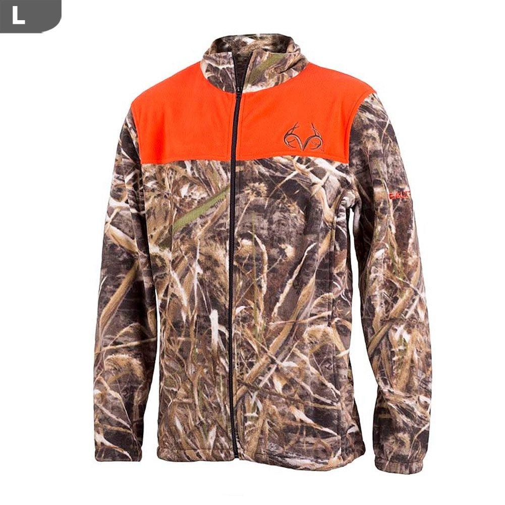 ee4443cec6347 Amazon.com: Realtree Men's Aspen Max-5 Camo Jacket (Large, Blaze & Camo):  Realtree: Health & Personal Care