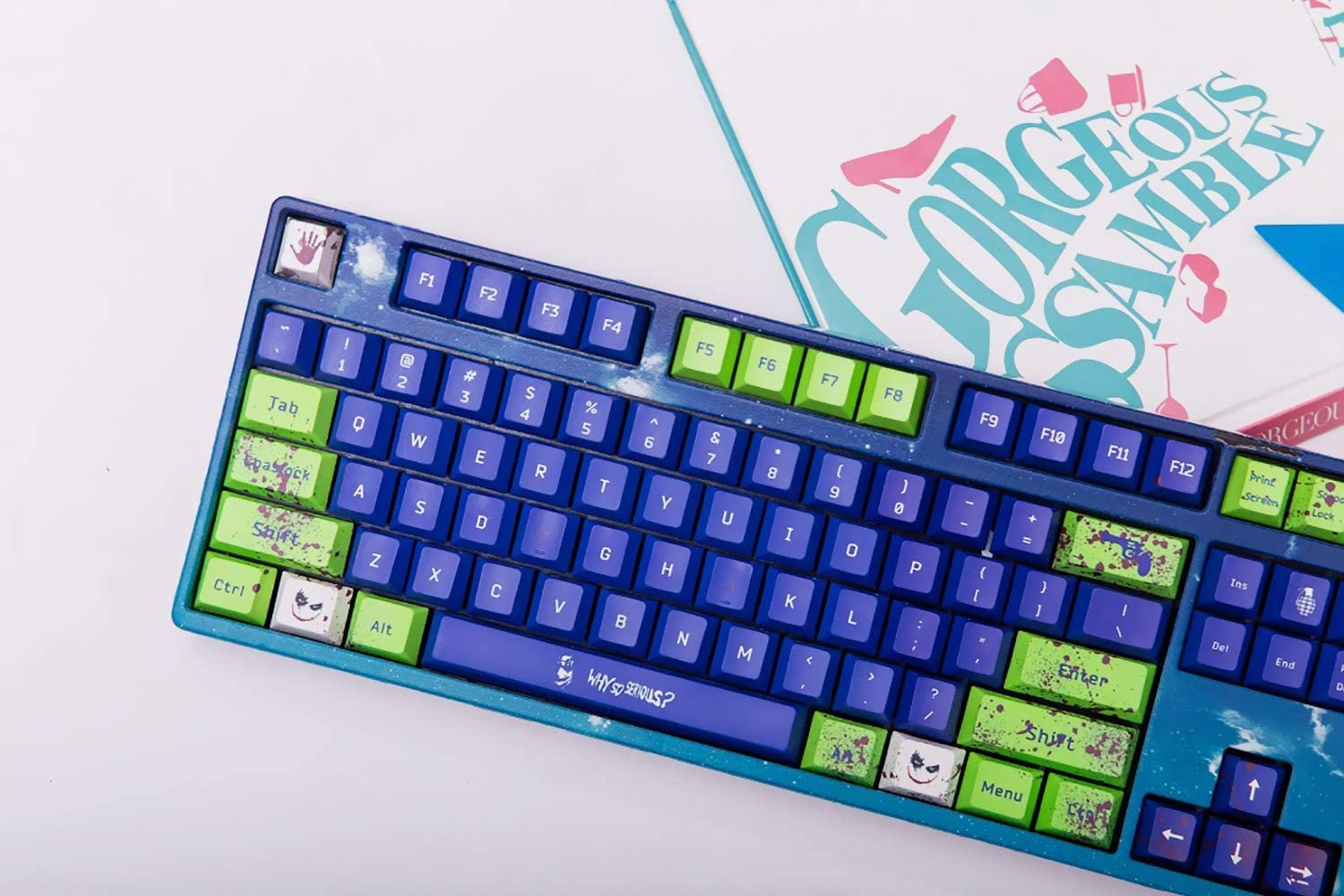 PBT Keycaps OEM Height//Cherry Height 61//87//104//108 Customizable Keycaps Suitable for Cherry MX Switch