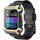 SUPCASE [Unicorn Beetle Pro] Designed for Apple Watch Series 6/SE/5/4 [44mm], Rugged Protective Case with Strap Bands…
