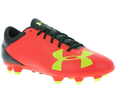 830353b51 Image Unavailable. Image not available for. Color  Under Armour Men s UA  Spotlight DL FG Rocket Red High-Vis Yellow Black
