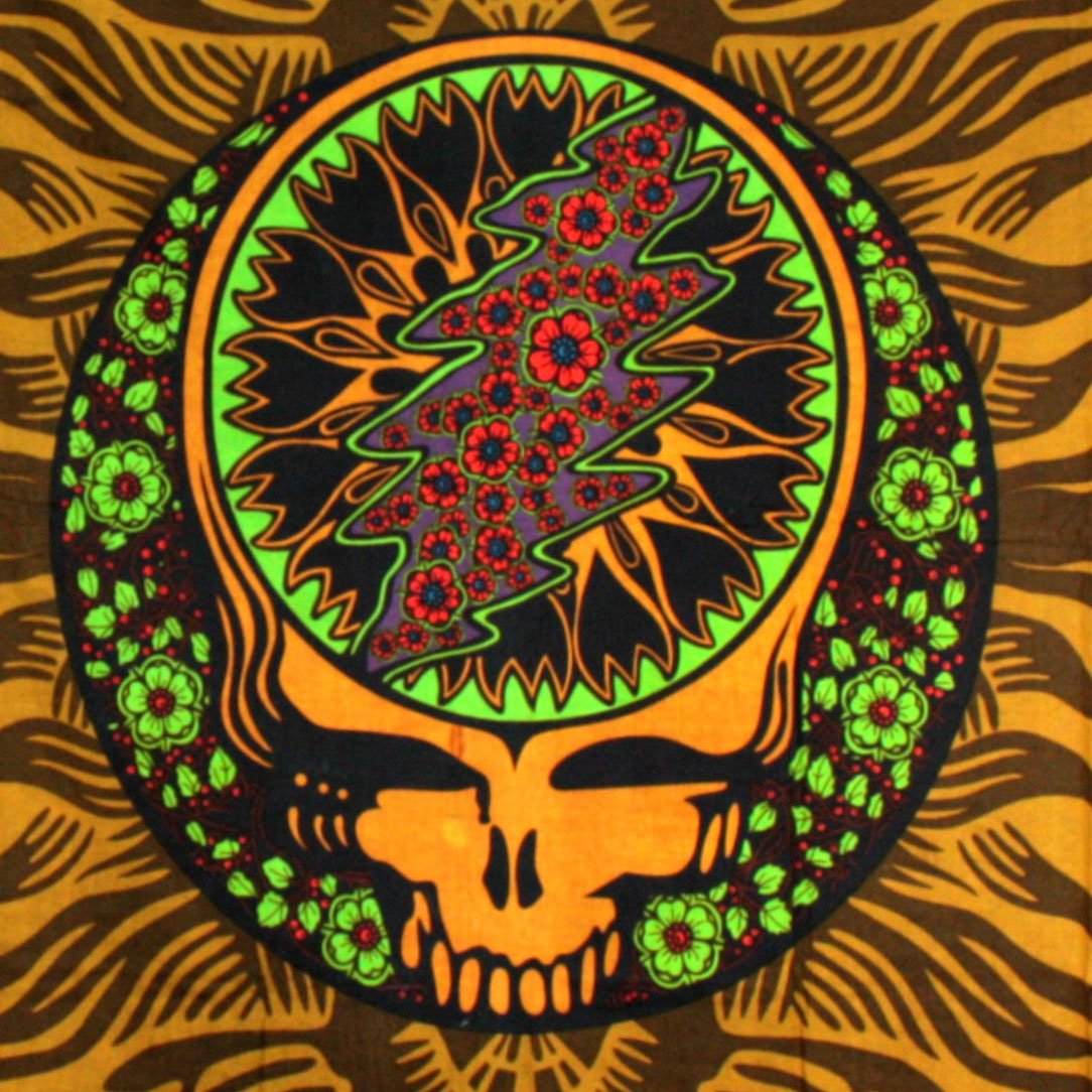 amazon com sunshine joy grateful dead 3d steal your face u0026 roses