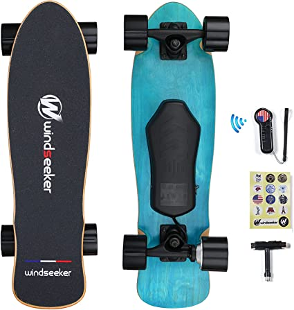 7 Lays Maple Details about  /Electric Skateboard Complete w// Wireless Remote Control 350W Motor