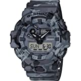Casio Sport Watch Analog-Digital Display Quartz Digital for Men GA-700CM-8AER