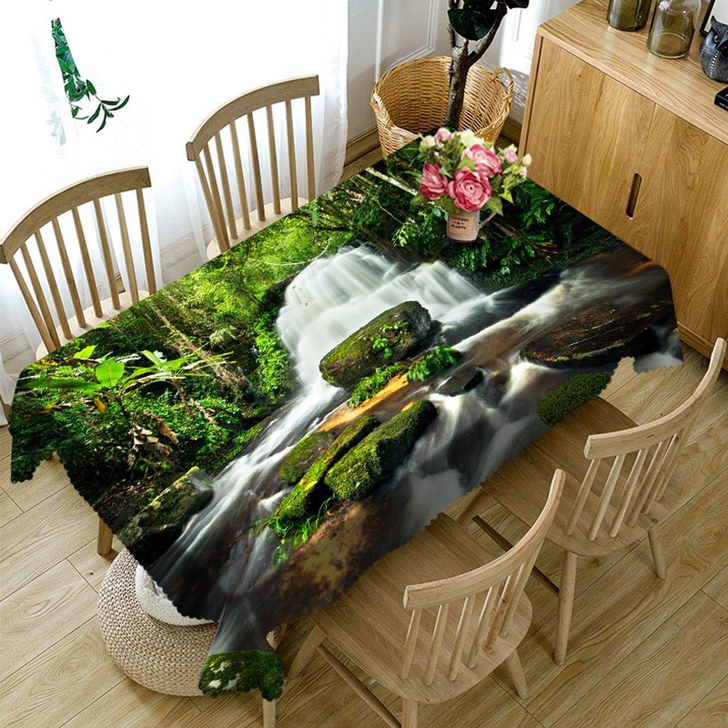 Tovaglia Biancheria da Cucina Rettangolare 3D Personalizzata PG01047 - Ecologica e insapore - Stampa Digitale Impermeabile (Dimensioni   Rectangular -152cm259cm)