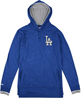 new arrivals 6ab42 9f1a7 Mitchell   Ness Los Angeles Dodgers MLB Seal The Win L S Hooded Men s Shirt