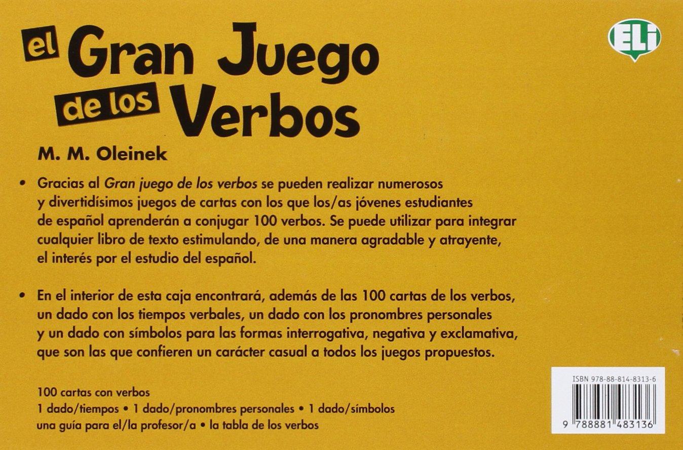 ELI Language Games: El gran juego de los verbos Eli 19.60%: Amazon.es: Wladimir Kaminer: Libros en idiomas extranjeros