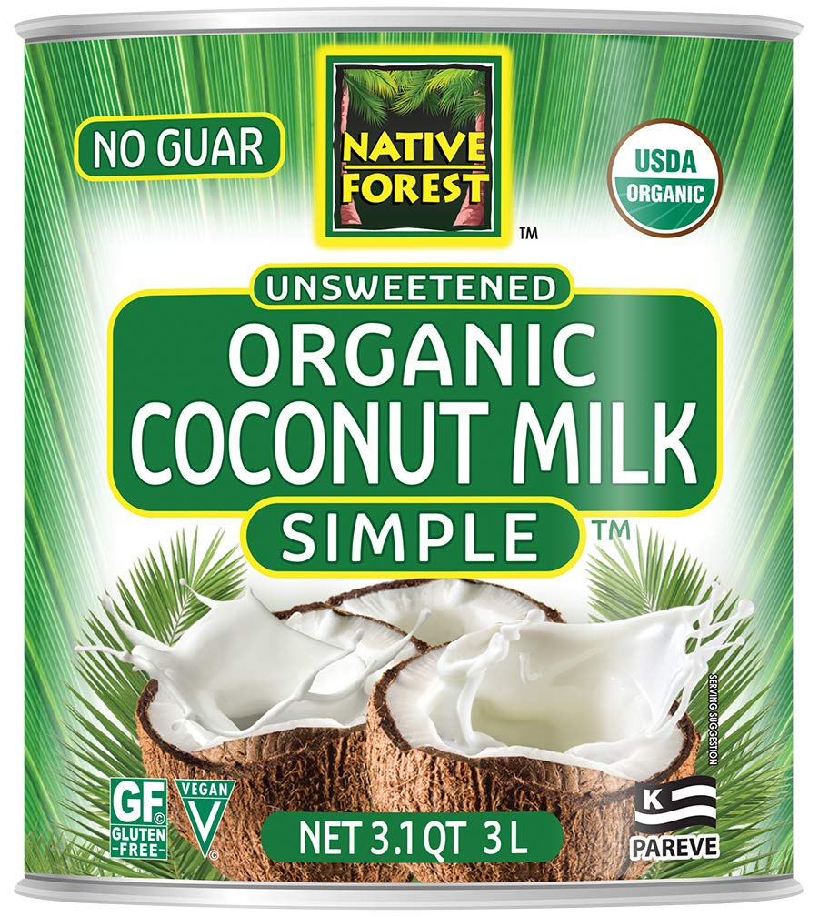 Native Forest Simple Organic Unsweetened Coconut Milk, 101 Ounce by Edward & Sons