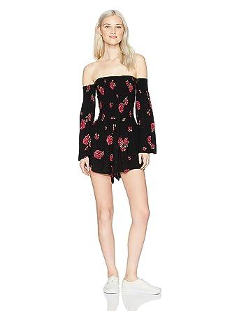 05c6f4e18335 Amazon.com  Billabong Women s Hola Noche Romper  Clothing