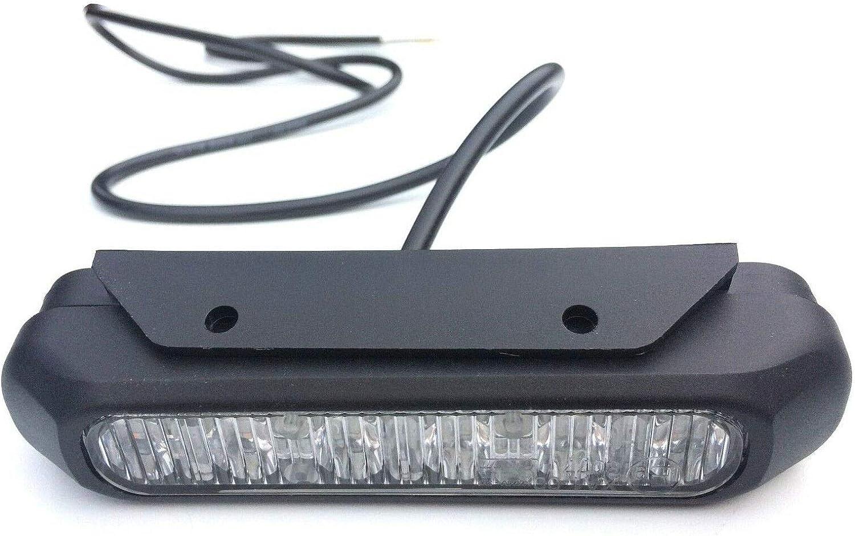 36 V /über Bordnetz Einbau Orange Fristom Frontblitzer//Stra/ßenr/äumer FT-200 LED 95200 12 V 24 V
