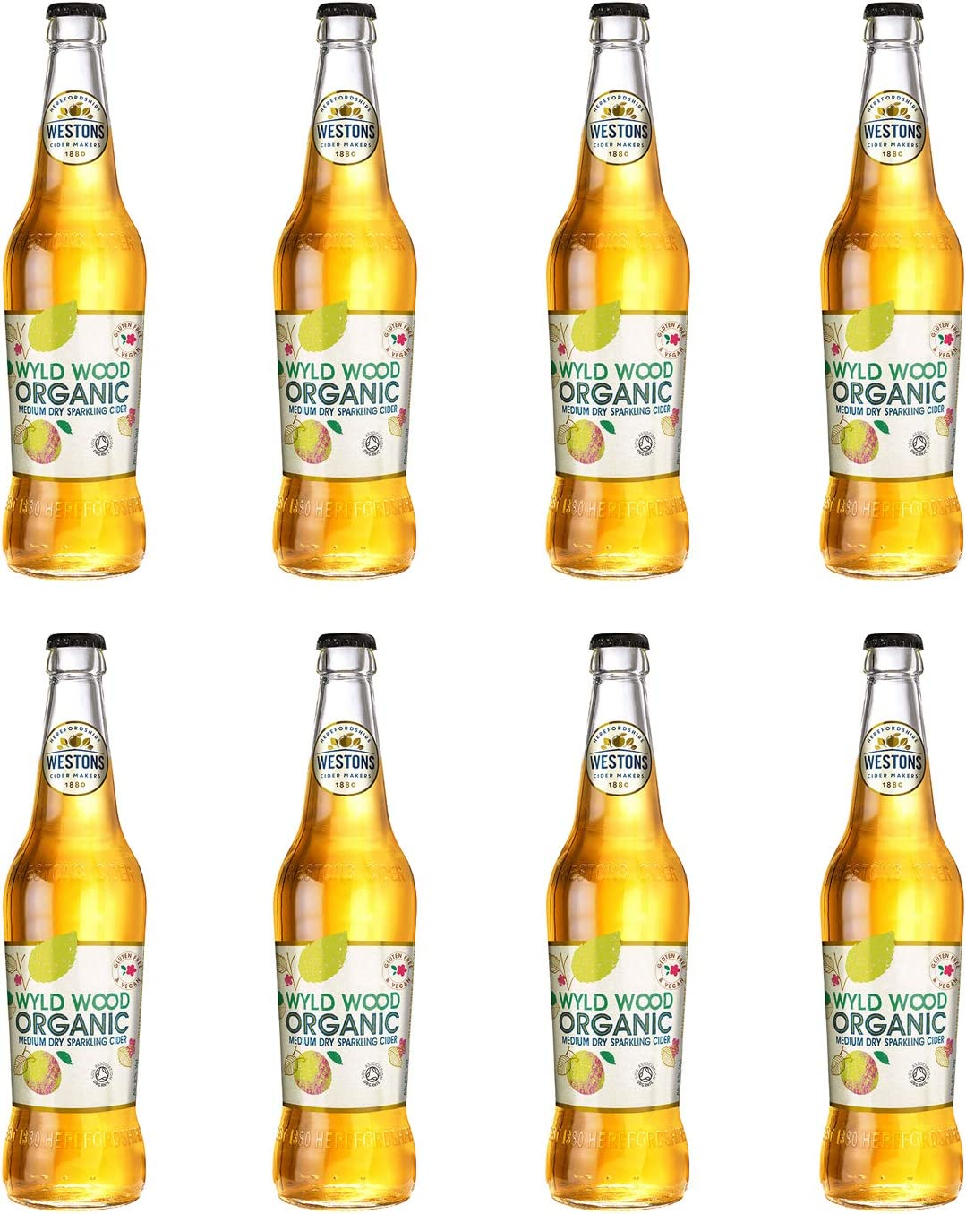 Westons – Wyld Wood Organic Cider 8x 500ml Bottles