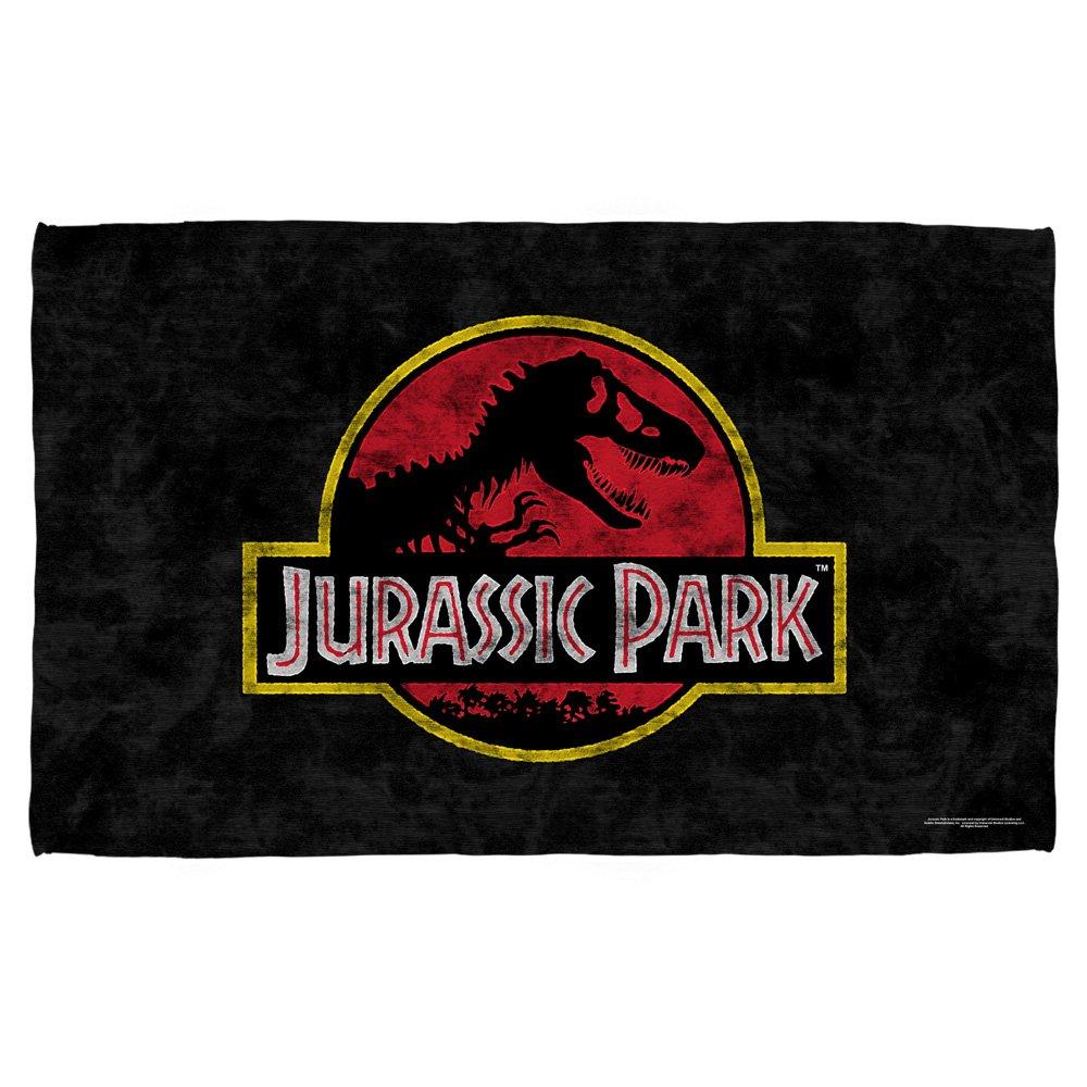 Universal Studios Classic Movie Logo - Jurassic Park - Beach Towel (30''x 60'') by Universal Studios