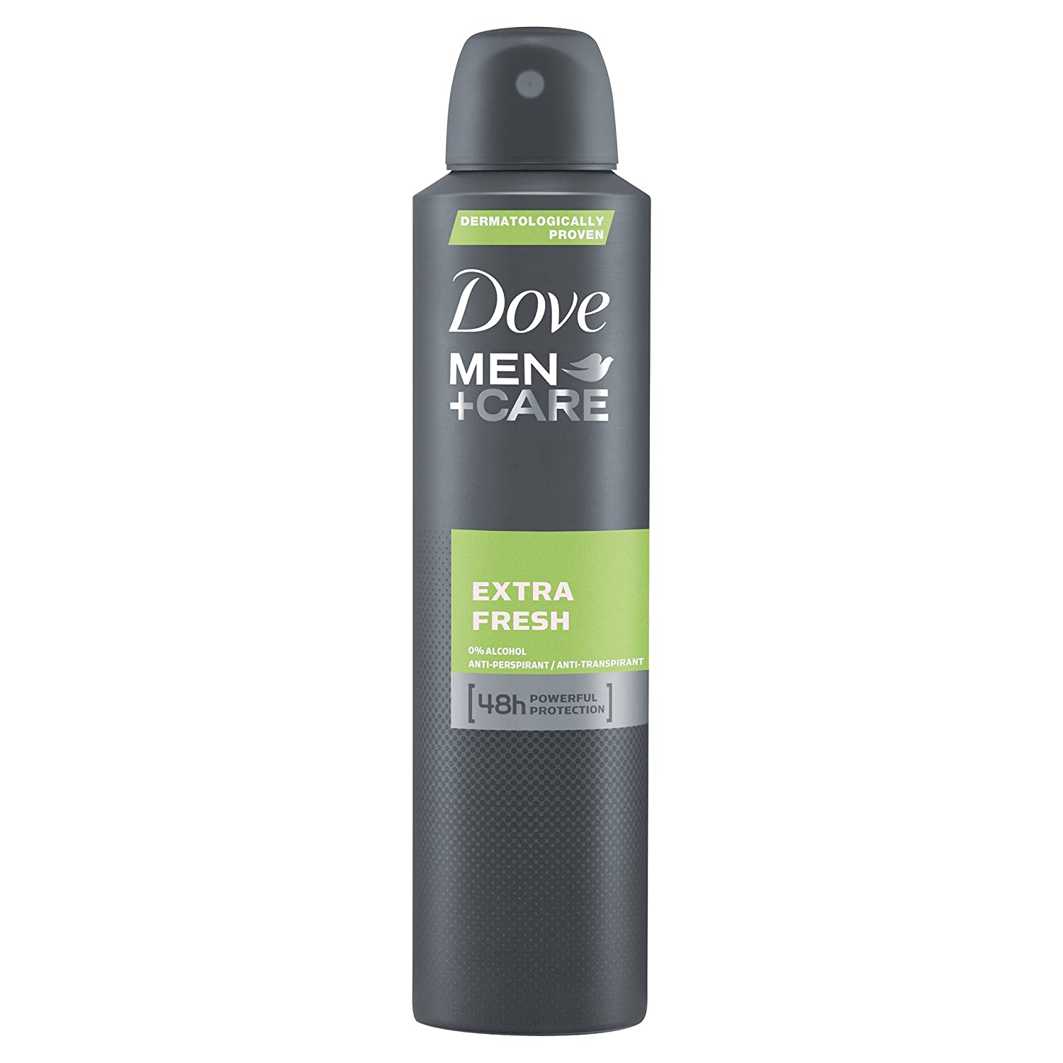 Dove Men + Care Extra Fresh Aerosol AntiPerspirant Deodorant, 250 ml, Pack of 3 Unilever 8762902