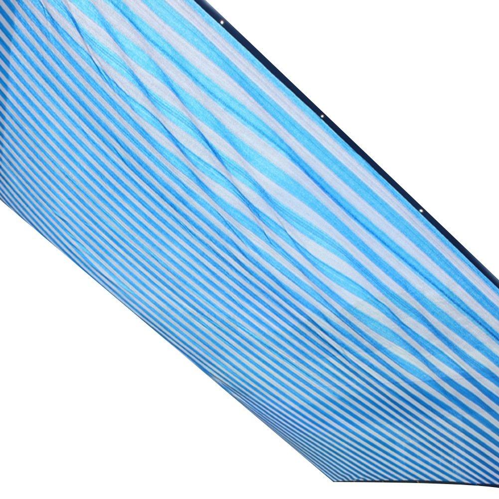 HAIPENG Schattierungsnetz Polyethylen Schatten Netting Verdicken Verschlüsselte Mesh Plane Wärmeisolierung Schwerlast Atmungsaktiv Angepasst (Farbe   Blau+Weiß, größe   4x6m)