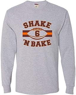60fa6cca7 Amazon.com  Baker Mayfield Shirt Browns Tshirt Shake and Bake Shirt ...