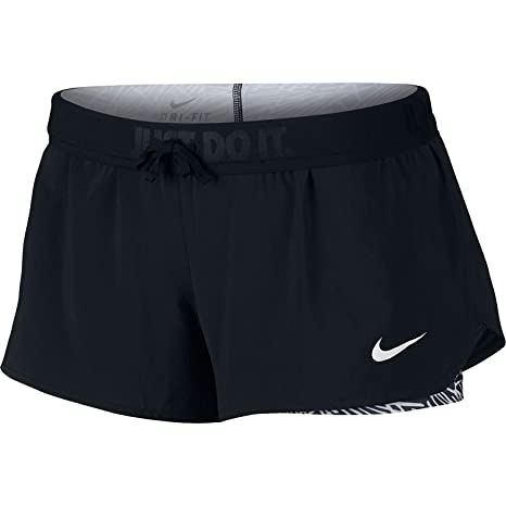 63b174d38a Image Unavailable. Image not available for. Color: Nike Full Flex Women's 2 -in-1 Running Shorts ...