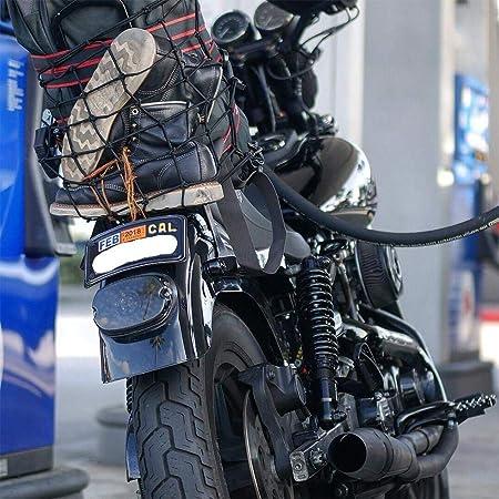 3PCS Red El/ástica Moto Equipajes Casco y Correa de Casco Cuerda Correa de Carga Moto Pulpo Motocicleta Bicicleta