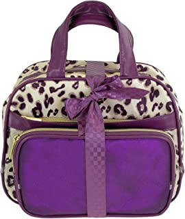 Camomilla Milano-Set Beauty Bag S Plum Leopard