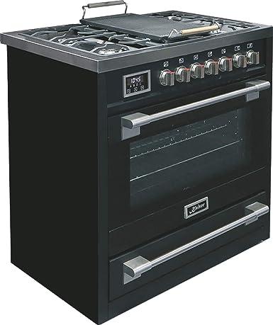 Kaiser HGE 93505 S 2019 - Cocina eléctrica de gas con placa de ...