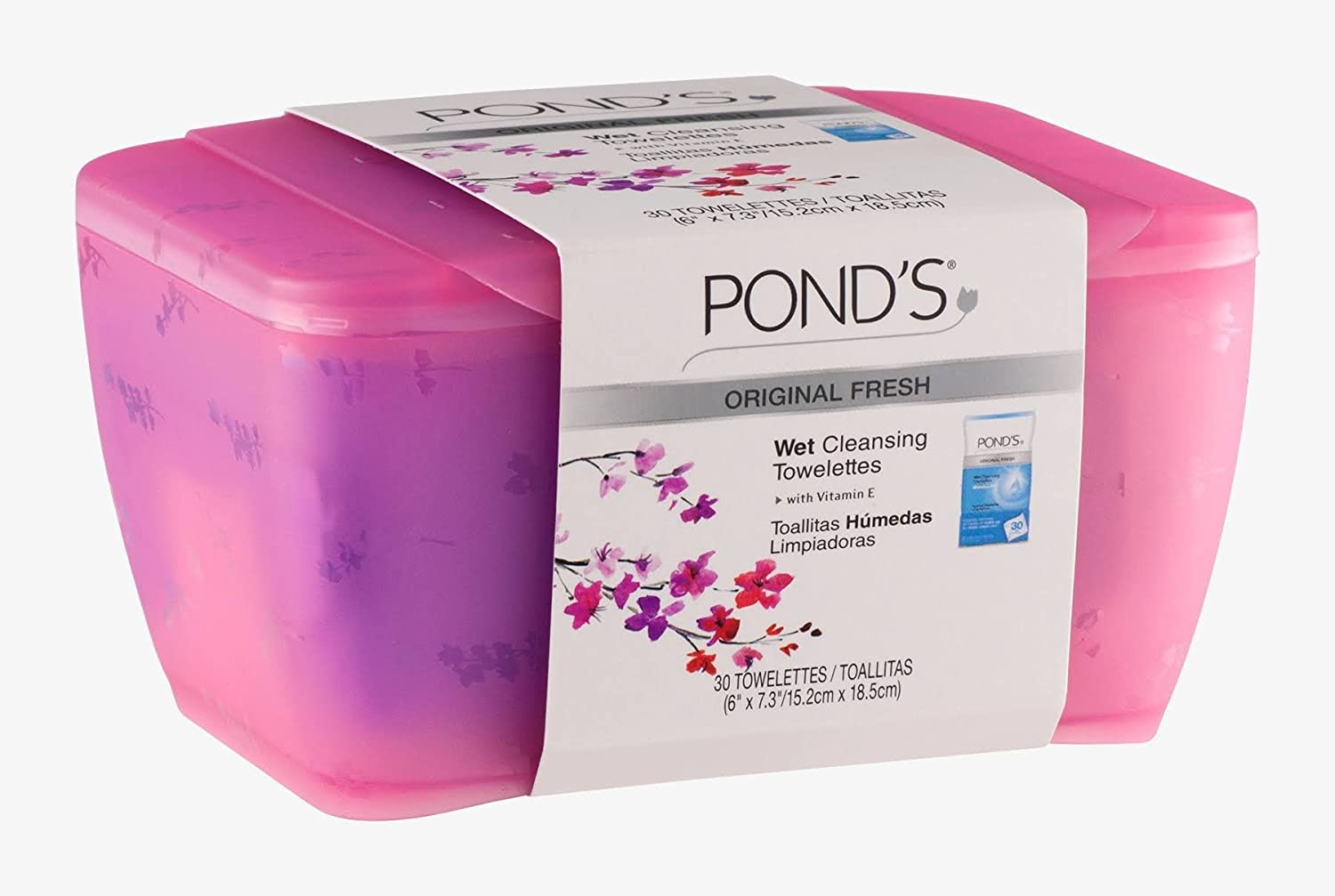 Amazon.com: Ponds Wet Cleansing Towelettes and Decorative Box (1 unit): Beauty