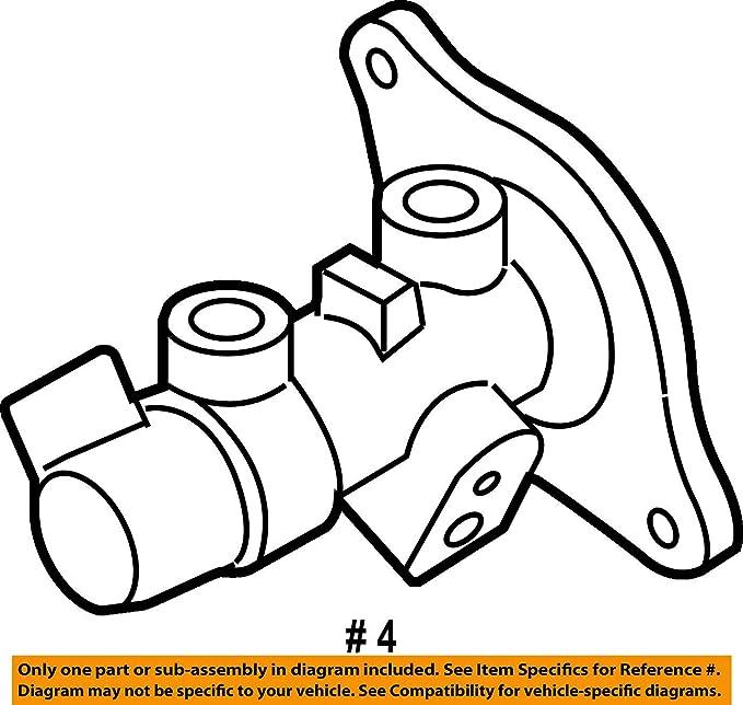 Toyota Brake Master Cylinder Diagram