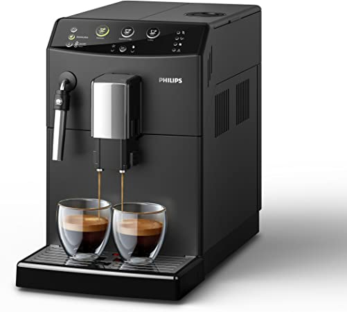 Philips 3000 series - Cafetera (Independiente, Máquina espresso, 1,8 L, Molinillo integrado, 1850 W, Negro): Amazon.es: Hogar