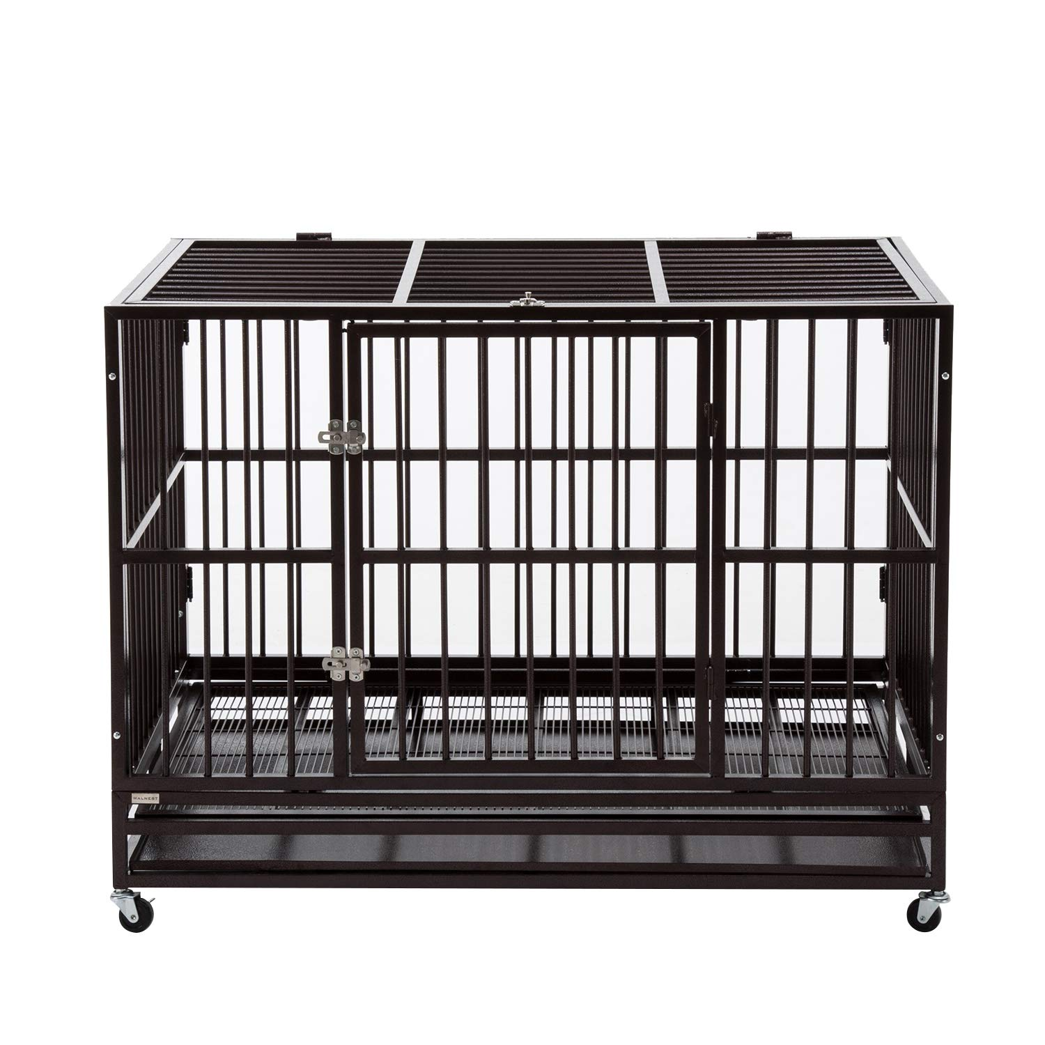 Paney Heavy Duty Rolling Dog Cage