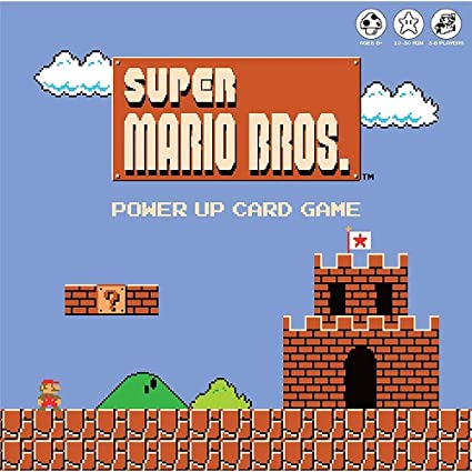 Amazon.com: Super Mario Bros Power Up Card Game |Super Mario Brothers Video  Game Nintendo NES Artwork |Fast paced card games |Easy to learn and quick  to play |Fun game for all the