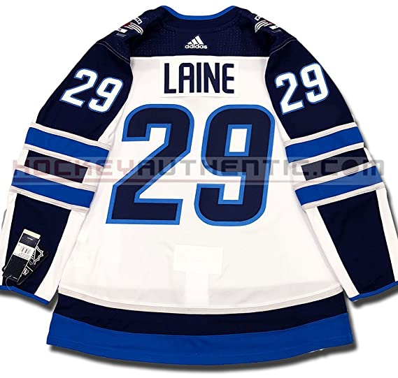 more photos dcda6 14646 Patrik Laine Winnipeg Jets Authentic PRO Away NHL Jersey ...
