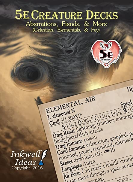 5e Creature Decks: Aberrations, Fiends and More