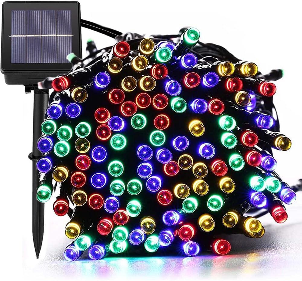 MagicLux Tech Luces Solar Exterior Tira Lamparas led de Decoraci/Garden Iluminaci de 22 Metros, 200 Leds Decoraci con de 8 Modos Las Cambia, Impermeable: Amazon.es: Hogar