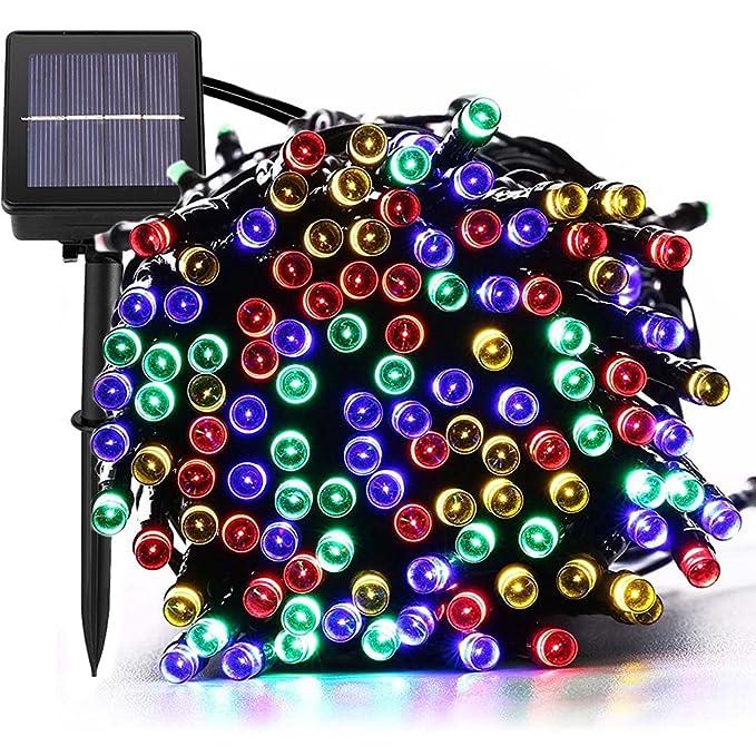 150 opinioni per 200 luci della stringa solare del LED, impermeabile illuminazione Fata esterno