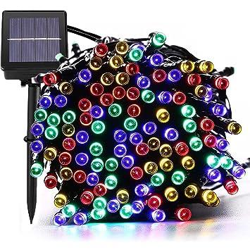 MagicLux Tech Luces Solar Exterior Tira Lamparas led de Decoraci/Garden Iluminaci de 22 Metros, 200 Leds Decoraci con de 8 Modos Las Cambia, ...